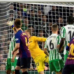 1-4. Messi consolida aún más el liderato del Barça