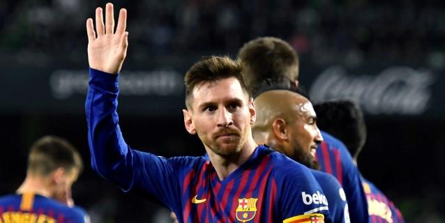 Messi, estelar, sentencia LaLiga