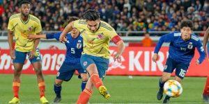 0-1. Falcao da el triunfo a Colombia ante Japón en el debut de Queiroz
