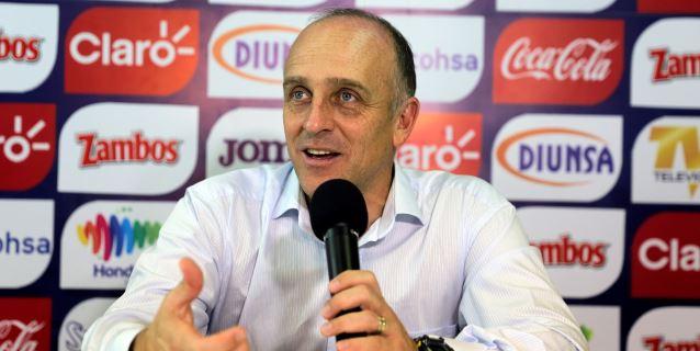 Coito convoca a 27 jugadores de Honduras para el amistoso contra Ecuador