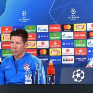 """Simeone: """"Nosotros venimos jugando este partido hace tres meses"""""""