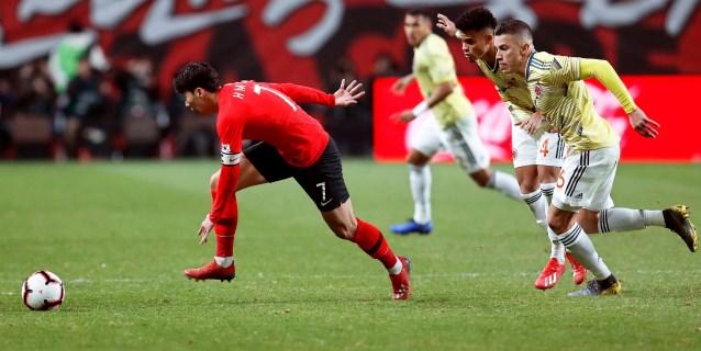 2-1. Colombia cae con polémica ante una Corea del Sur con más fortuna