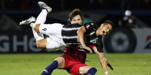 2-1. Nelson Haedo certifica con dos goles el ascenso del Cerro al liderto
