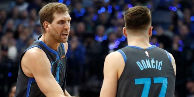 Nowitzki y Curry protagonizan una noche especial; los Spurs y los Nuggets, triunfales