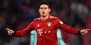 El Bayern golea al Maguncia con triplete de James y sigue líder