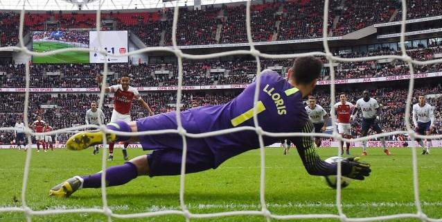Lloris salva un punto para el Tottenham contra el Arsenal (1-1)