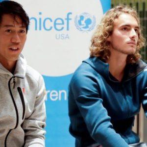 TENIS ABIERTO MIAMI: Las actividades sociales de jugadores y la lluvia fueron los protagonistas
