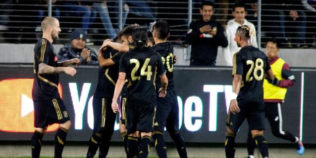 Doblete de Vela da el empate al LAFC ante el New York City