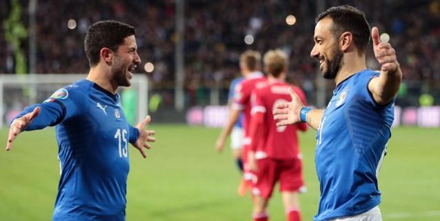 6-0. Italia golea a Liechtenstein al ritmo de Kean y Quagliarella