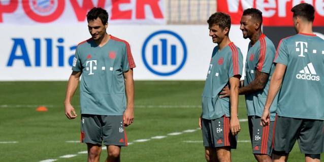 Fotografía de archivo que muestra a los jugadores del Bayern Munich (i-d)  Mats Hummels 4113a3598c9