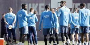 BARCELONA: Los internacionales españoles y brasileños se incorporan a los entrenamientos