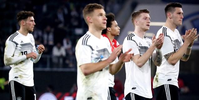 1-1. La nueva Alemania no pasa de un empate ante Serbia