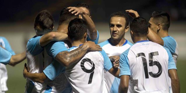 0-1. Guatemala vence a Nicaragua con un gol de su delantero Luis Martínez