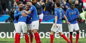 4-0. Francia se da otro festín ante Islandia