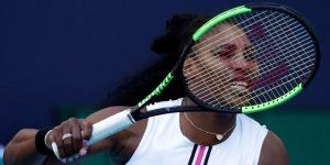 Miami se queda sin estrellas con el retiro de Serena; pierden Osaka y Kerber