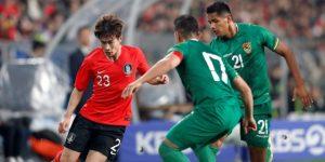 1-0. Una resistente Bolivia cae a cinco minutos del final con Corea del Sur
