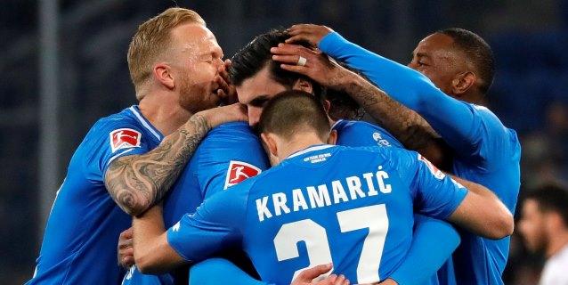El Leverkusen se aleja de la zona 'Champions' goleado por el Hoffenheim (4-1)