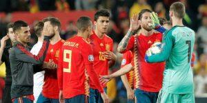 2-1. España sufrió para ganar un partido en el que mereció más