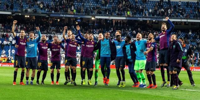0-1. El Barça acaricia la Liga y sentencia a un Real Madrid de trincheras