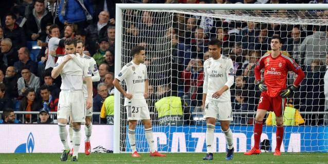 1-4. El Ajax acelera el fin de ciclo en la noche más negra del Real Madrid