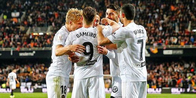 1-0. Un gol de Rodrigo mete al Valencia en la final