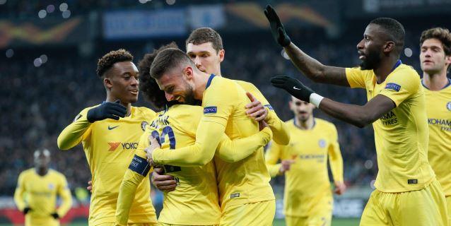 El Inter y el Sevilla, ko; Chelsea y Arsenal exhiben músculo
