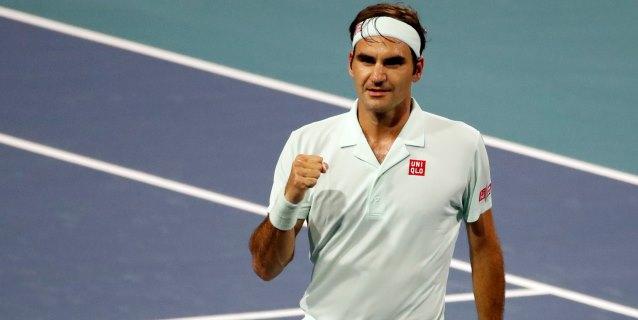 TENIS: Federer buscará su cuarto título de Miami ante el defensor Isner