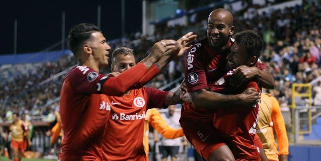 0-1. El Internacional de Porto Alegre obtiene tres puntos de oro en Chile