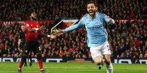 0-2. Bernardo Silva y Sané acaban con el United