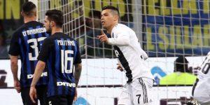Cristiano niega al Inter el triunfo en el Derbi de Italia (1-1)