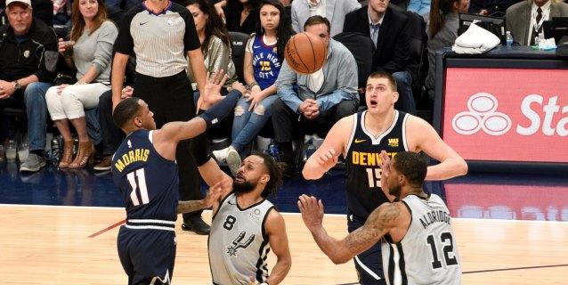 NBA: 90-86. Jokic lleva a los Nuggets a semifinales