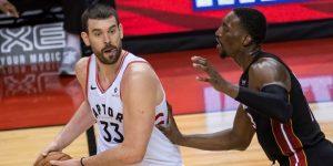 NBA: 17-109: Miami Heat no remata y cae en la prórroga ante los Raptors