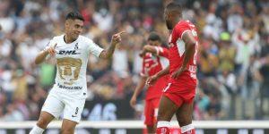 Los Pumas empatan 2-2 con el Toluca de Ricardo La Volpe y lo eliminan