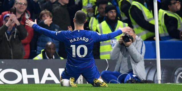 Un Hazard maravilloso devuelve al Chelsea a la lucha por la 'Champions'