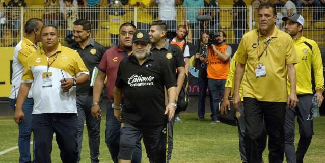 3-1. Los Dorados de Maradona vencen a los Mineros y se acercan a la final