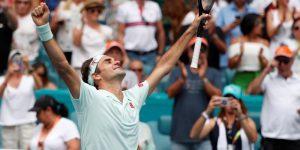 Federer y Barty hacen historia con los primeros títulos en el Hard Rock Stadium