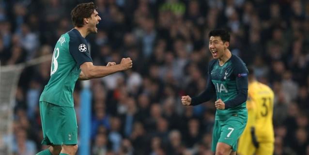 4-3. Llorente y el VAR reinan en la locura; y el Tottenham pasa a semifinales
