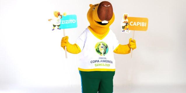 Capibi o Zizito, la Copa América 2019 lanza una encuesta para bautizar su mascota
