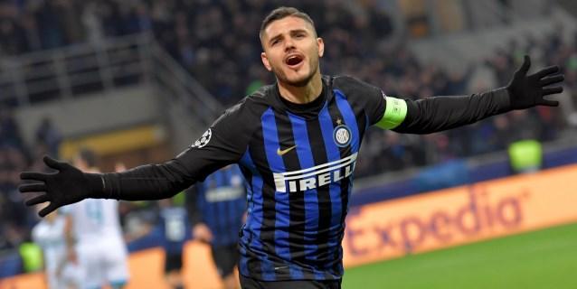 Icardi, reincorporado por el Inter pero despedido por su hinchada