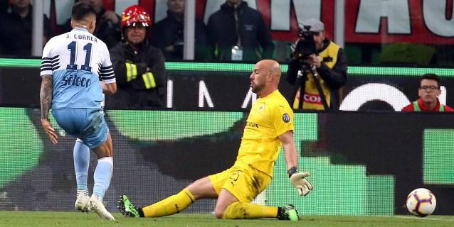 Correa elimina al Milan y mete al Lazio en la final de la Copa Italia