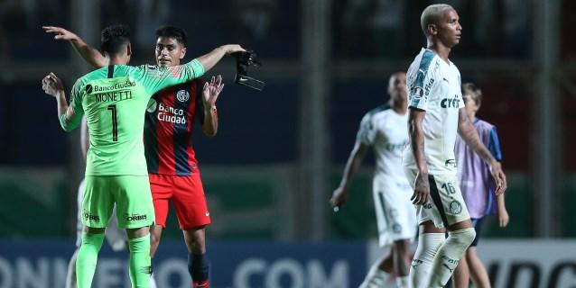 1-0. San Lorenzo vence a Palmeiras y es el líder del grupo F