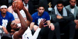 NBA: 108-112. Embiid lidera el triunfo de los Nets y provoca pelea colectiva
