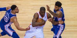 NBA: 89-94: Los Sixers igualan la eliminatoria 1-1 al derrotar a los Raptors