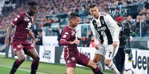 Cristiano frustra a un Torino valiente en el derbi de Turín (1-1)