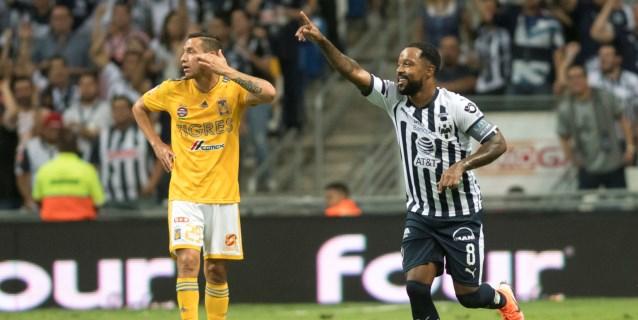 Monterrey vence 1-0 a Tigres con un gol del colombiano Dorlán Pabón