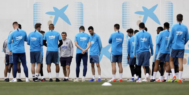 Cinco protagonistas del FC Barcelona en la conquista de la Liga 2018-19