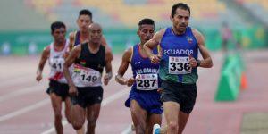 ATLETISMO: El ecuatoriano Byron Piedra revalida el título sudamericano en 10.000 metros