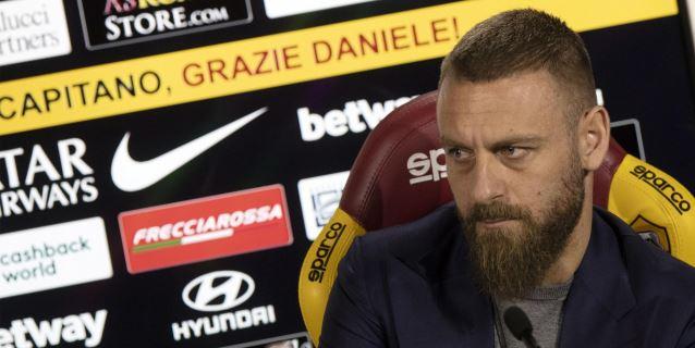 Daniele De Rossi deja el Roma tras 18 temporadas