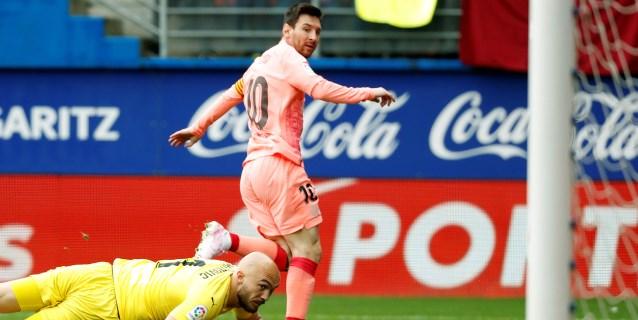 Messi alcanza a Telmo Zarra: máximo goleador por sexta vez