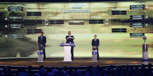 Cruzeiro se enfrentará al campeón River Plate en los octavos de final de la Libertadores